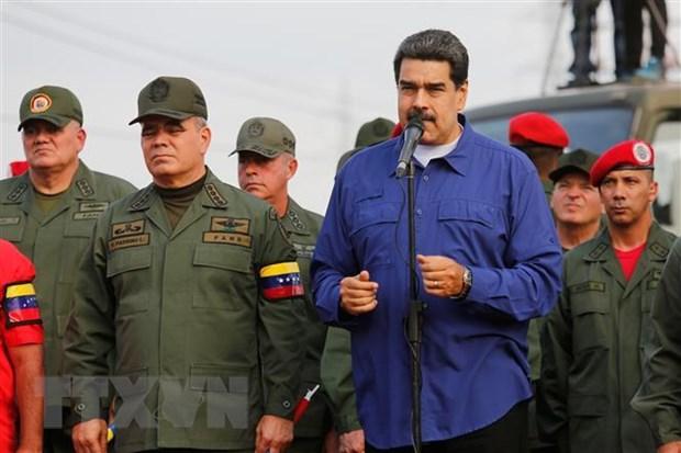 Chinh phu Venezuela tai khang dinh lo trinh doi thoai voi phe doi lap hinh anh 1