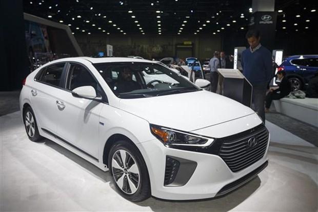 Doanh so ban xe SUV cua Hyundai Motor vuot dong sedan trong quy 1 hinh anh 1