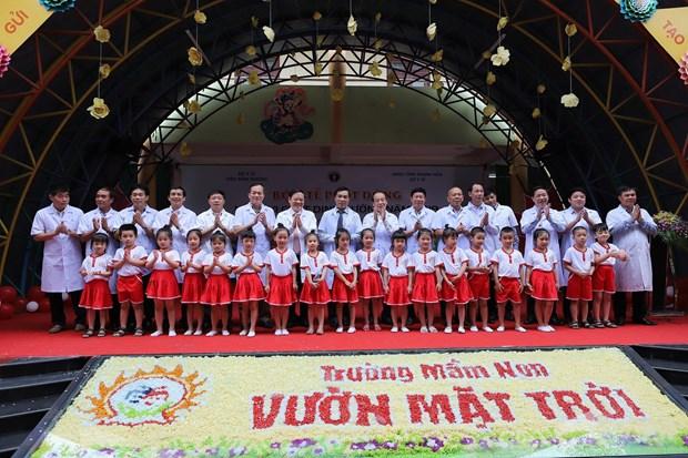'Ngay Vi chat dinh duong 2019': Muc tieu nang cao tam voc, tri tue hinh anh 1