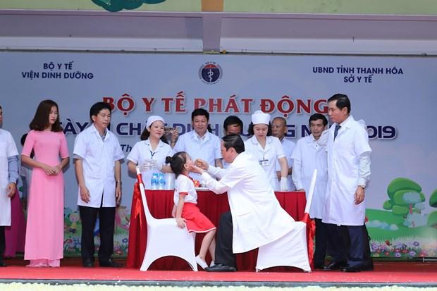 'Ngay Vi chat dinh duong 2019': Muc tieu nang cao tam voc, tri tue hinh anh 2