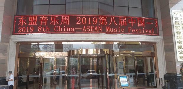 256 nghe sy tham du Tuan le am nhac Trung Quoc-ASEAN 2019 hinh anh 1