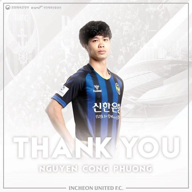 Cong Phuong roi Incheon United, sang chau Au tim co hoi moi hinh anh 1