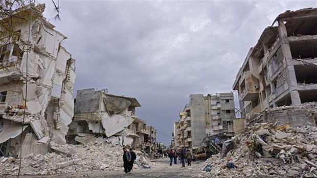 Hon 40 nguoi thuong vong trong vu danh bom xe tai Syria hinh anh 1