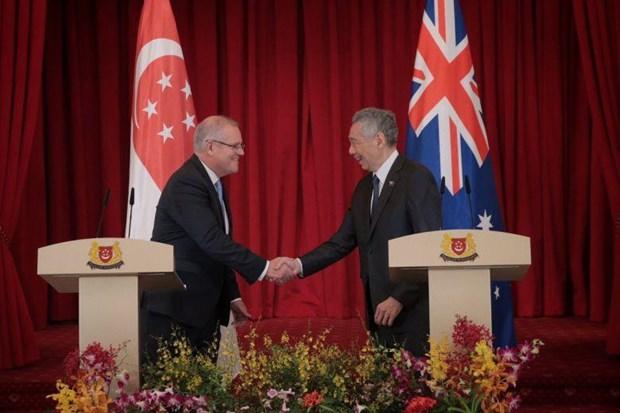 Singapore va Australia thuc day trien khai hop tac kinh te so hinh anh 1