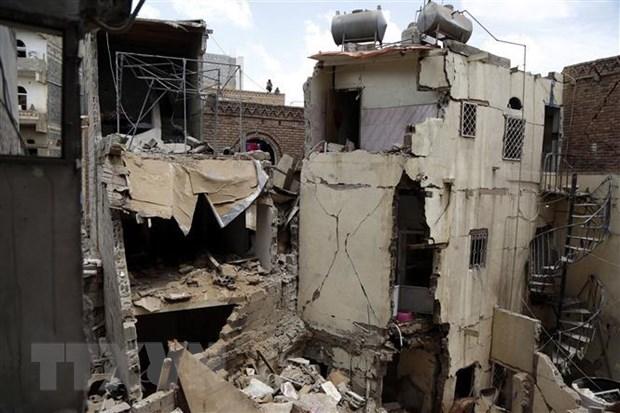 Khong kich tai thu do Sanaa cua Yemen lam nhieu nguoi thuong vong hinh anh 1