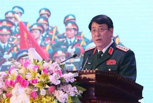 Doan cap cao Quan doi nhan dan Viet Nam tham chinh thuc Nga va Belarus hinh anh 1