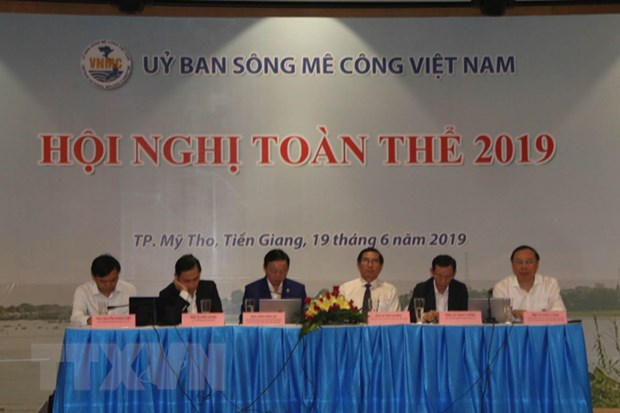 Hoi nghi toan the Uy ban song Mekong Viet Nam lan thu nhat hinh anh 1