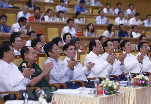 Thu tuong chu tri Hoi nghi phat trien Vung kinh te trong diem Bac Bo hinh anh 1