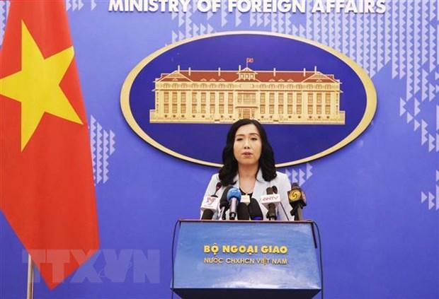 Viet Nam len tieng ve phat bieu cua Tong thong Hoa Ky Donald Trump hinh anh 1