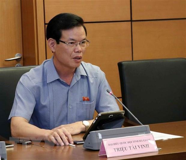 Ong Trieu Tai Vinh lam Pho Truong ban Kinh te Trung uong hinh anh 1