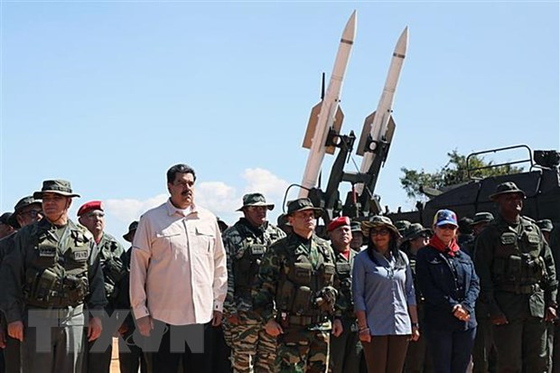 Venezuela se tap tran de chong lai am muu dao chinh cua phe doi lap hinh anh 1
