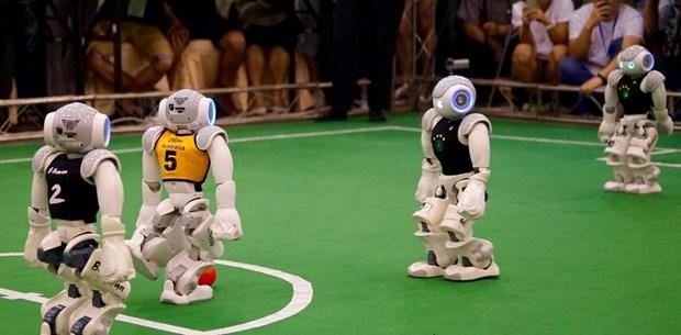 Soi dong Giai bong da robot the gioi 2019 tai Australia hinh anh 1