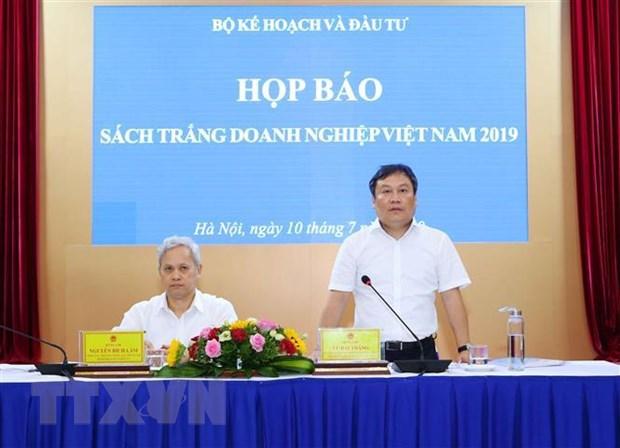 Lan dau tien cong bo Sach Trang doanh nghiep Viet Nam 2019 hinh anh 1