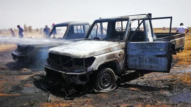 Libya: Danh bom xe khien it nhat 37 nguoi thuong vong tai Benghazi hinh anh 1
