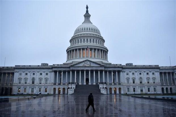 Tòa nhà Quốc hội Mỹ tại Washington, DC. Ảnh: AFP/ TTXVN