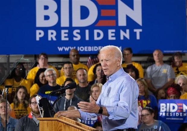 Ket qua tham do moi nhat ve hai ung vien Joe Biden va Elizabeth Warren hinh anh 1