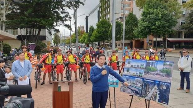 Han Quoc xay 'duong cao toc cho xe dap' CRT xuyen thu do Seoul hinh anh 1