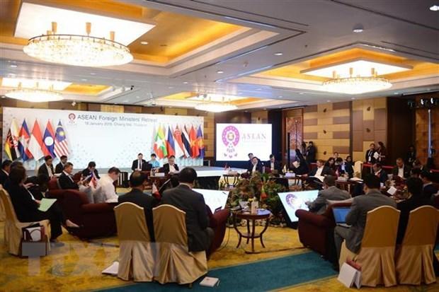 Thai Lan xuc tien chuan bi cho Hoi nghi Bo truong Ngoai giao ASEAN hinh anh 1
