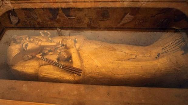 Phuc hoi quan tai cua Vua Tutankhamun lan dau tien trong gan 100 nam hinh anh 1