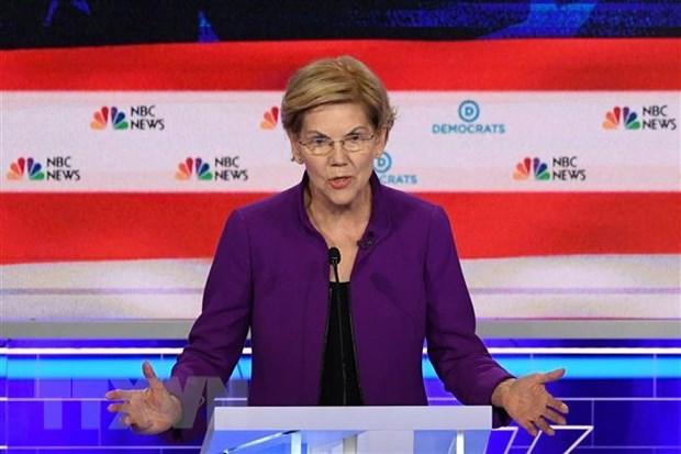 Bau cu My: Ung vien Elizabeth Warren canh bao nguy co sup do kinh te hinh anh 1