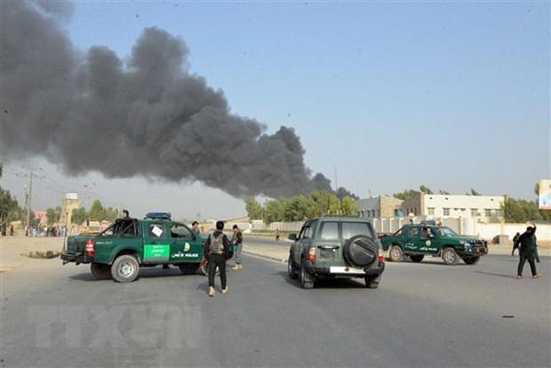 Afghanistan: No lon tai thu do Kabul ngay trong gio cao diem hinh anh 1