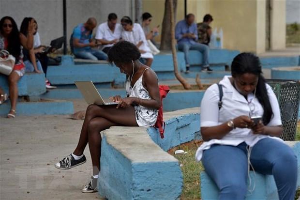 Cuba cung cap dich vu Internet khong day Wi-Fi tai nha rieng hinh anh 1