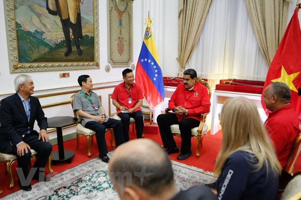 Venezuela danh gia cao vai tro, vi the cua Dang Cong san Viet Nam hinh anh 1
