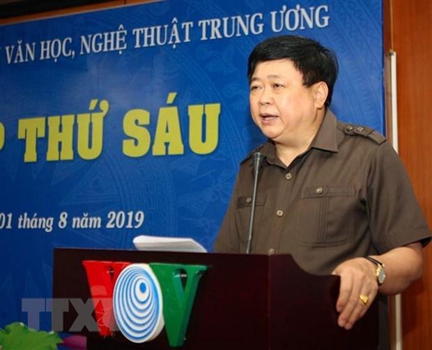 Ban Bi thu tang thuong cac tac pham ly luan, phe binh van hoc hinh anh 1