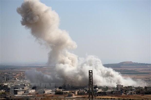 Syria: No kho dan tai san bay, it nhat 31 nguoi thiet mang hinh anh 1