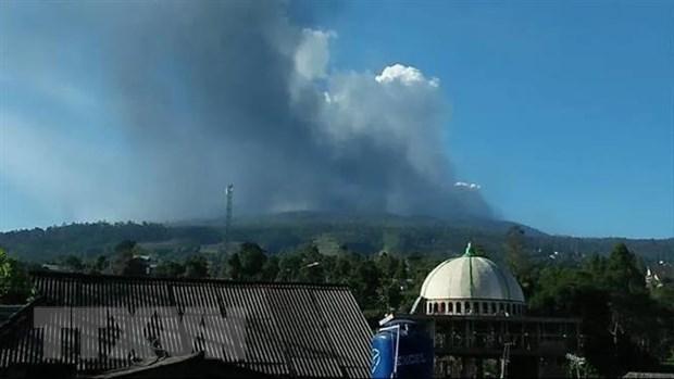 Indonesia cam cac hoat dong gan nui lua Merapi dang phun trao hinh anh 1