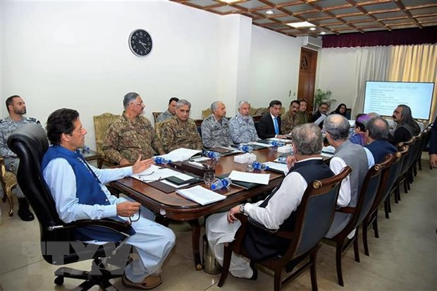 Thu tuong Imran Khan thi sat khu vuc Kashmir thuoc phan cua Pakistan hinh anh 1