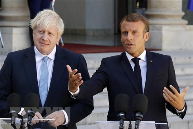 Anh va Phap nhat tri tiep tuc thao luan de tim loi thoat cho Brexit hinh anh 1