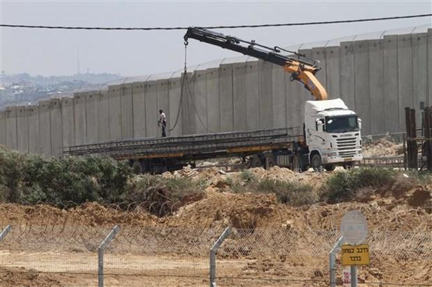 Israel bao dong do ten lua ban tu Gaza vao mien Nam hinh anh 1
