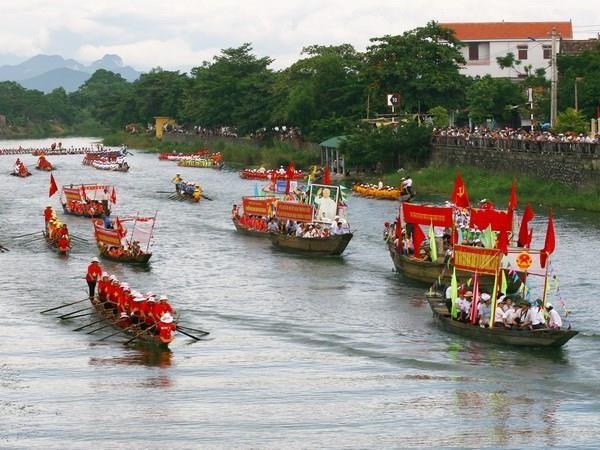 Quang Binh: Them hai le hoi la di san van hoa phi vat the quoc gia hinh anh 1