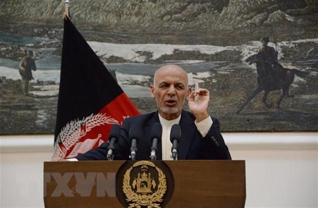 Tong thong Afghanistan neu dieu kien dam phan voi Taliban hinh anh 1