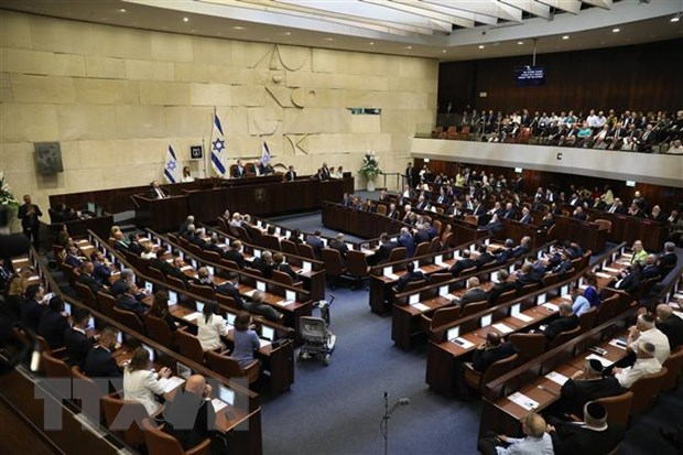 Bau cu Quoc hoi Israel quyet dinh van menh chinh tri cua ong Netanyahu hinh anh 1