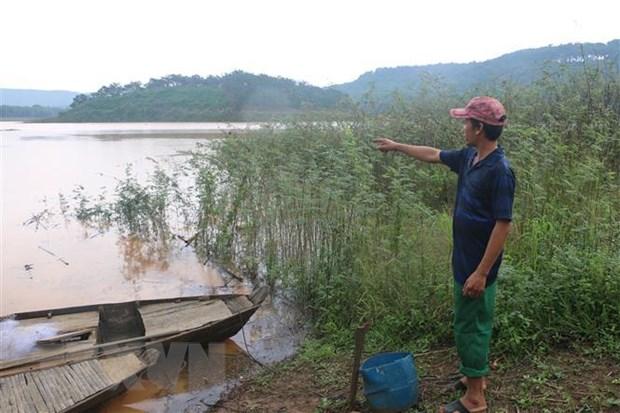 Binh Phuoc: Di tam ho, ba nam sinh duoi nuoc thuong tam hinh anh 1