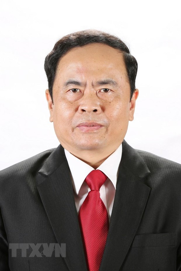 Guong mat cac Chu tich, Pho Chu tich Uy ban Trung uong MTTQ khoa IX hinh anh 1