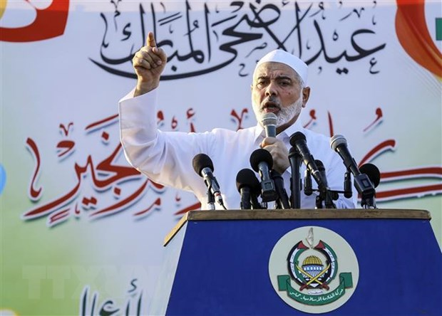 Hamas tan thanh to chuc bau cu tai cac vung lanh tho Palestine hinh anh 1