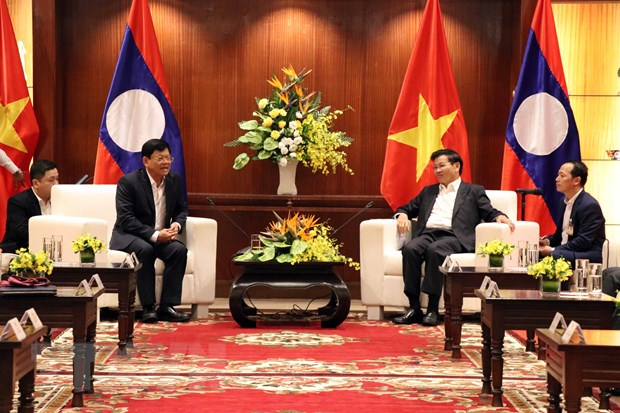 Thu tuong CHDCND Lao Thongloun Sisoulith tham Da Nang hinh anh 1