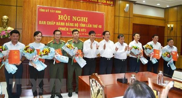 Ban Bi thu chi dinh 7 dong chi tham gia BCH Dang bo tinh Tay Ninh hinh anh 1