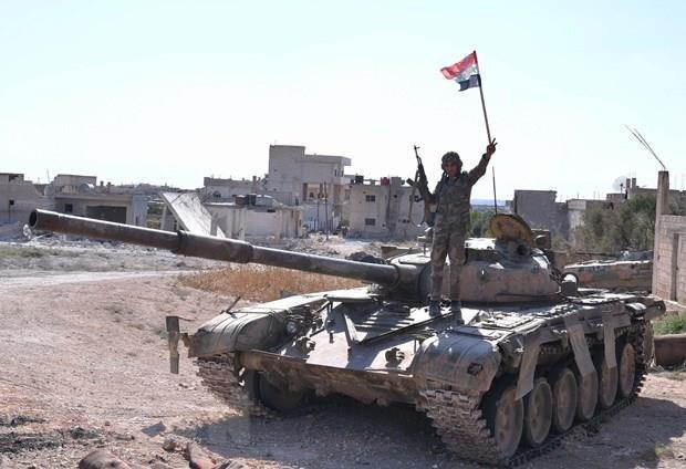 Syria: Phien quan o Idlib duoc trang bi nhieu vu khi hien dai hinh anh 1