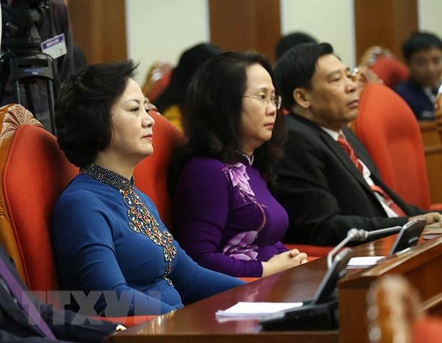 Hinh anh Be mac Hoi nghi lan thu 11 Ban Chap hanh TW Dang khoa XII hinh anh 10