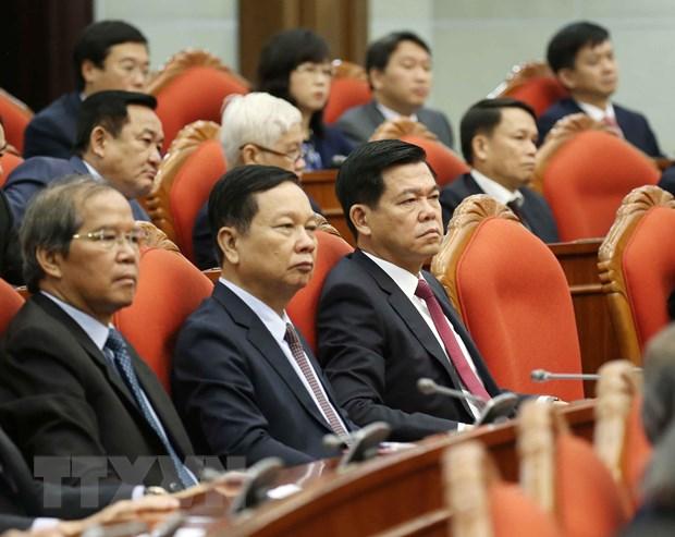 Hinh anh Be mac Hoi nghi lan thu 11 Ban Chap hanh TW Dang khoa XII hinh anh 11
