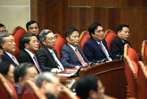 Hinh anh Be mac Hoi nghi lan thu 11 Ban Chap hanh TW Dang khoa XII hinh anh 12