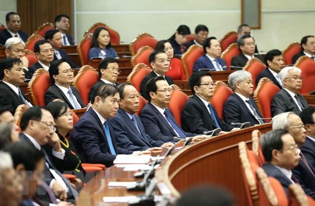 Hinh anh Be mac Hoi nghi lan thu 11 Ban Chap hanh TW Dang khoa XII hinh anh 13