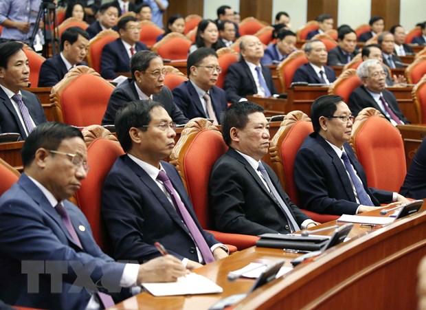 Hinh anh Be mac Hoi nghi lan thu 11 Ban Chap hanh TW Dang khoa XII hinh anh 14