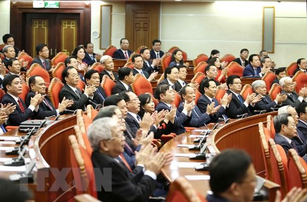 Hinh anh Be mac Hoi nghi lan thu 11 Ban Chap hanh TW Dang khoa XII hinh anh 15