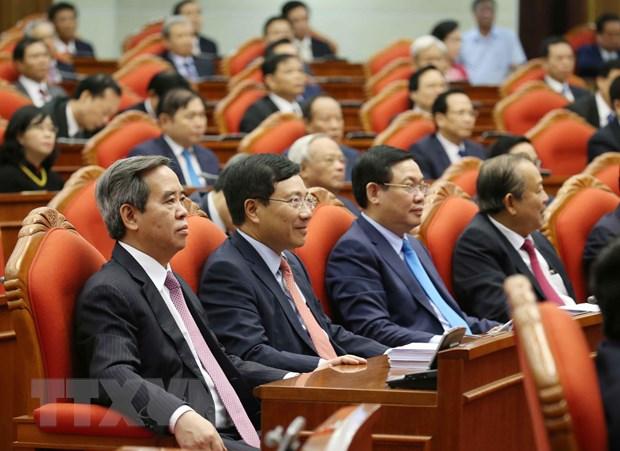 Hinh anh Be mac Hoi nghi lan thu 11 Ban Chap hanh TW Dang khoa XII hinh anh 2