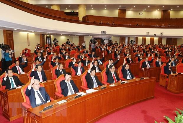 Hinh anh Be mac Hoi nghi lan thu 11 Ban Chap hanh TW Dang khoa XII hinh anh 21